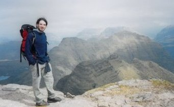 Me with Beinn Dearg in the background