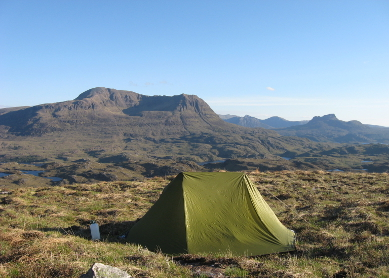 Wild Camping near Suilven